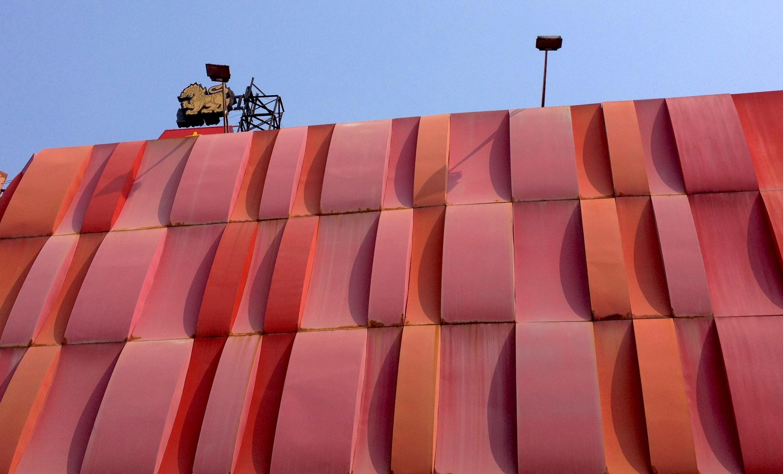 Immeuble rouge Bangkok