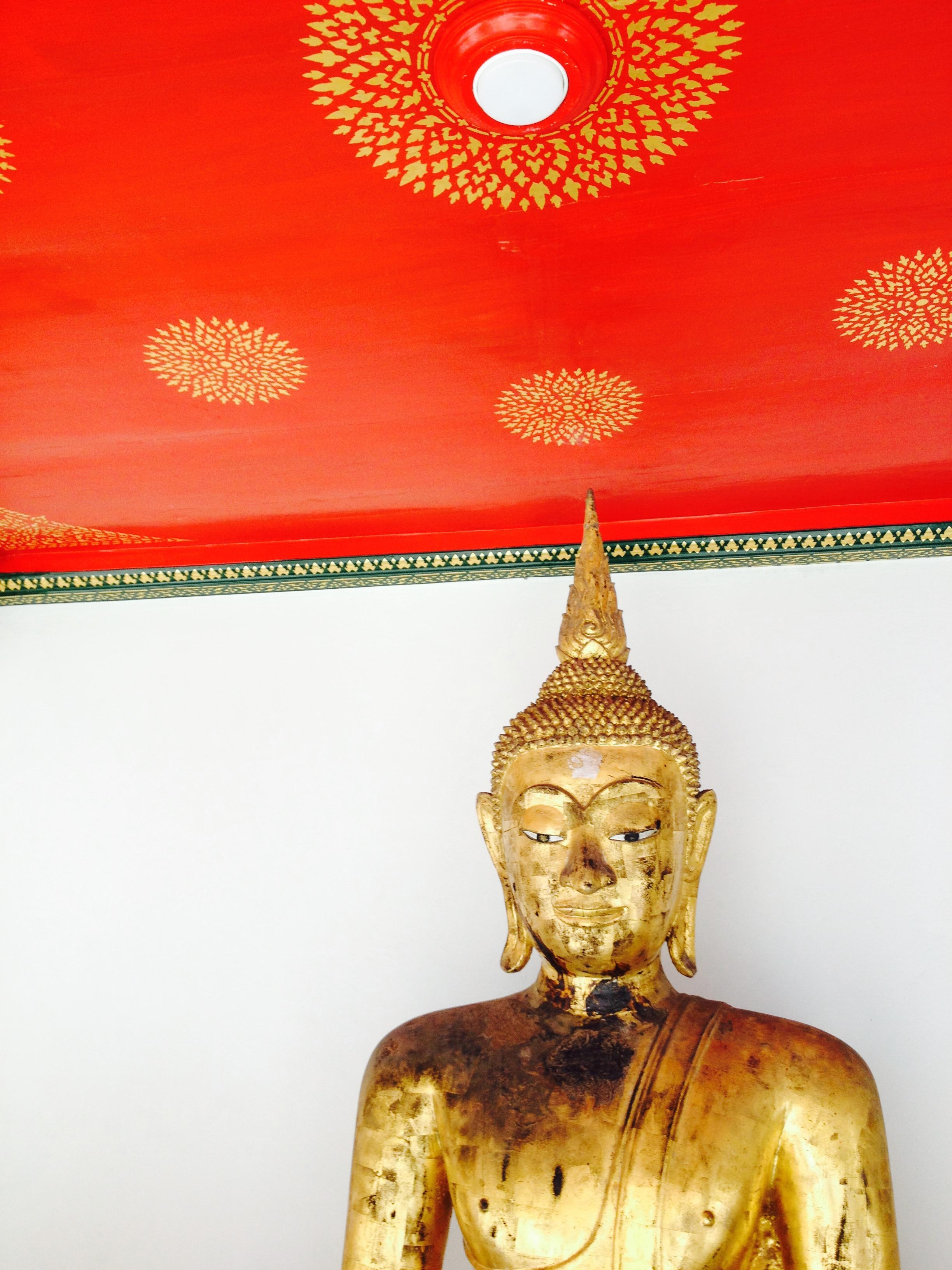 Bouddha rouge