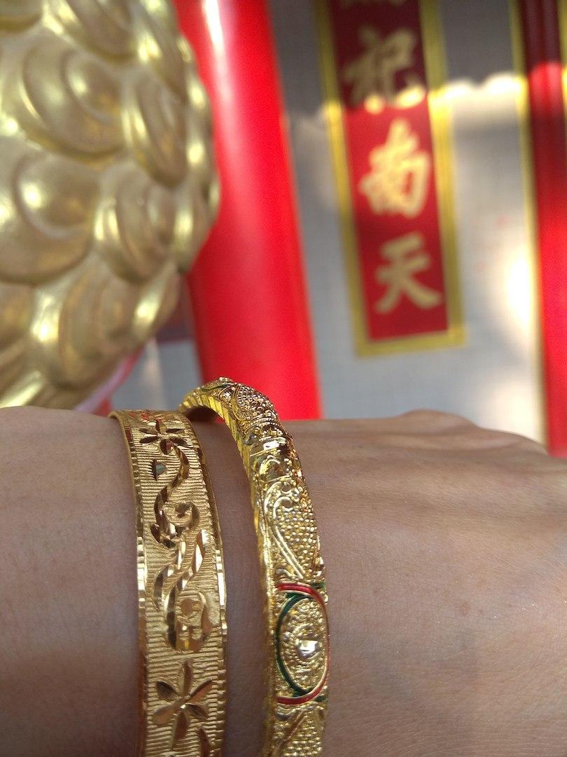 bracelet-babylon-roulotte-laiton-dore-or-dentelle-ouvrage-mannequin