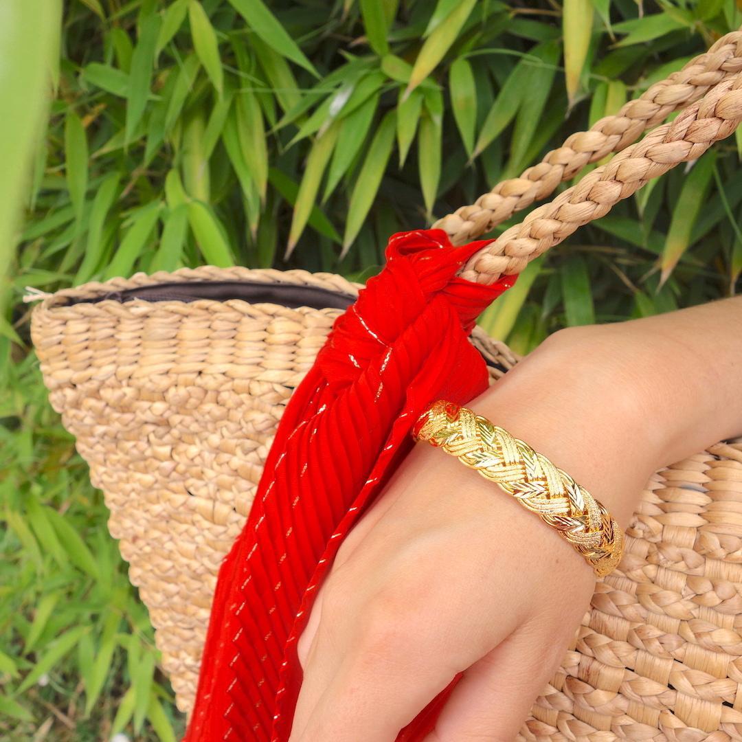 bracelet-liane-or-roulotte-tresse-boheme-ethnique