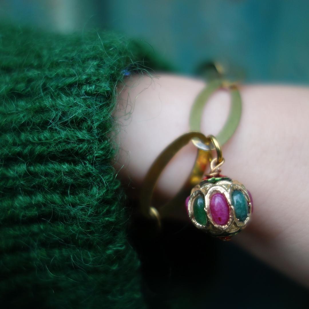 bracelet_gourmette_indira_laiton-dore-vintage_perle_indienne