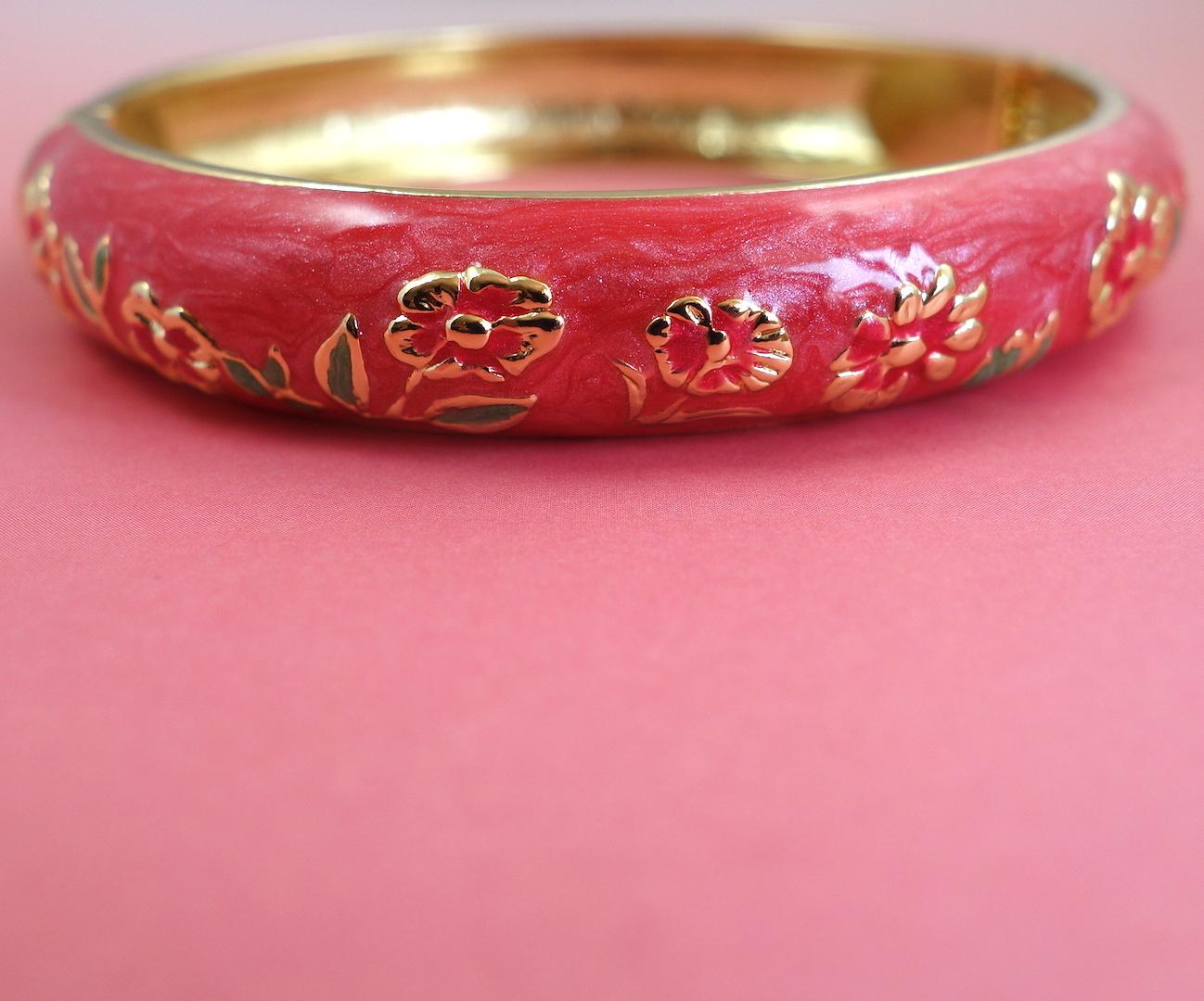 bracelet_in_the_mood_for_love_ming_emaille_fleuri_or_rose