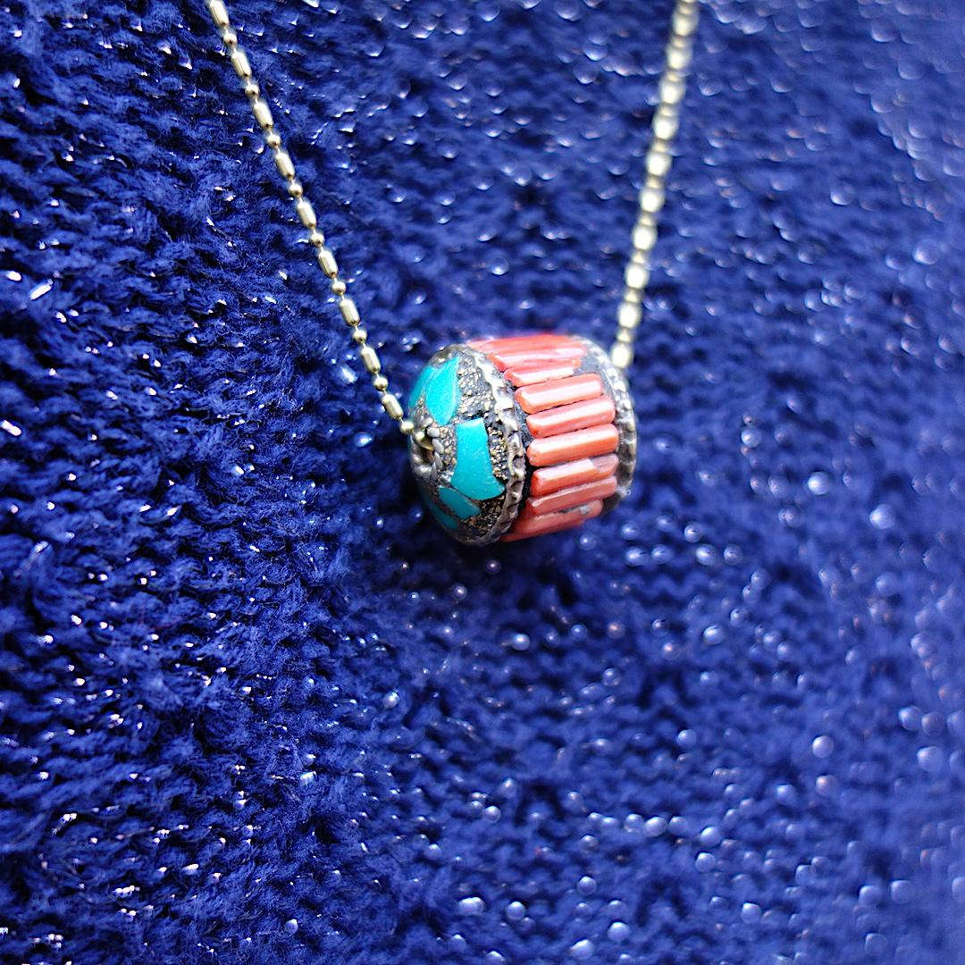 collier-bengali-istanbul-vintage-corail-turquoise-laiton-vieil-or
