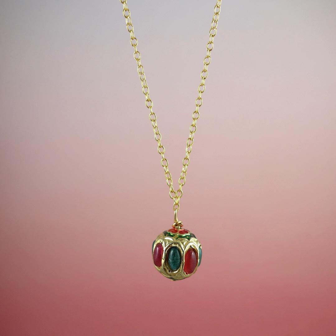 collier-india-rose-or-perle-precieuse-pierres