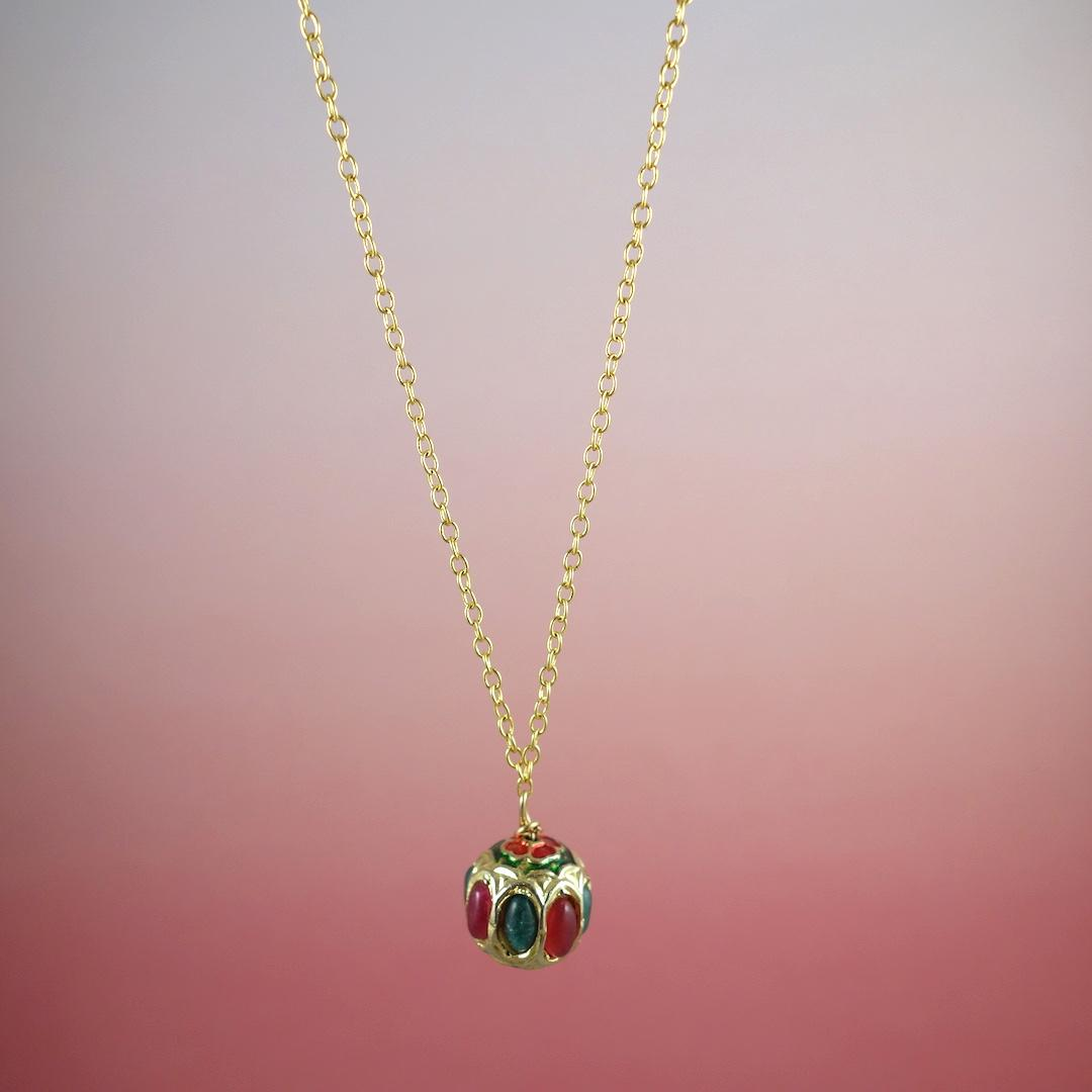 collier-india-rose-or-perle-precieuse-pierres-tresor