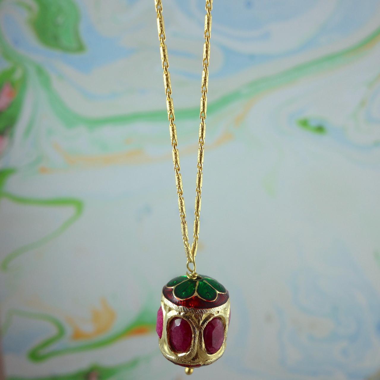 collier-shalimar-roulotte-boheme-voyageur-dore-or-fin-perle-indienne-vintage