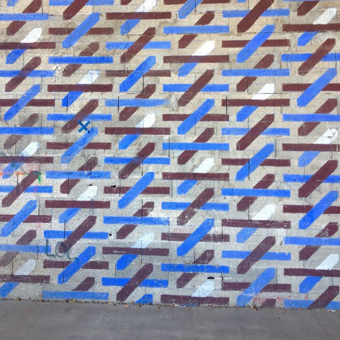 Mur graphique Marseille